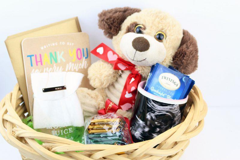 Ideas creativas para caja de regalos para baby showers
