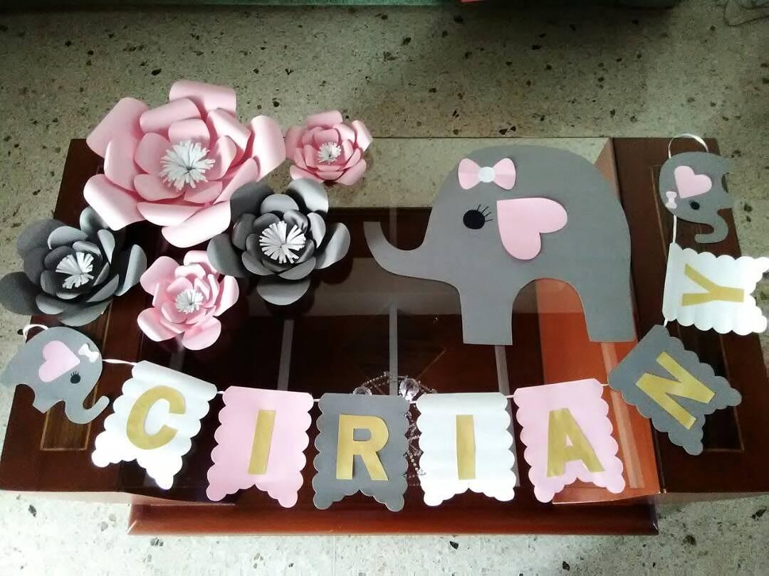 Ideas curiosas de baby showers con elefantes