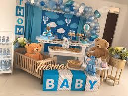 Decora tu baby shower con temática de osito