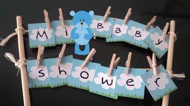 Ideas originales para baby shower