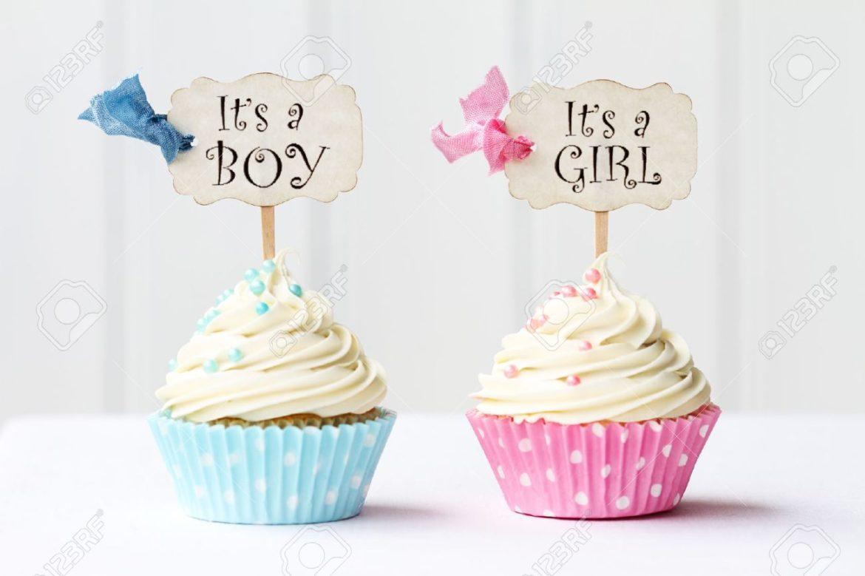 El maravilloso mundo del nacimiento ¡El Baby shower cupcakes!